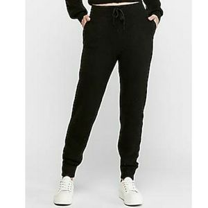 NWT EXPRESS | High Waist Cozy Sweater Jogger Pants